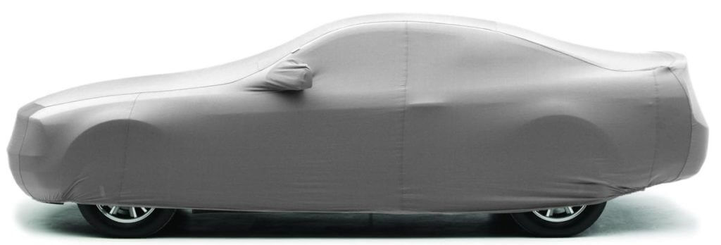 A fitted cover helps protect your vehicle during transport.