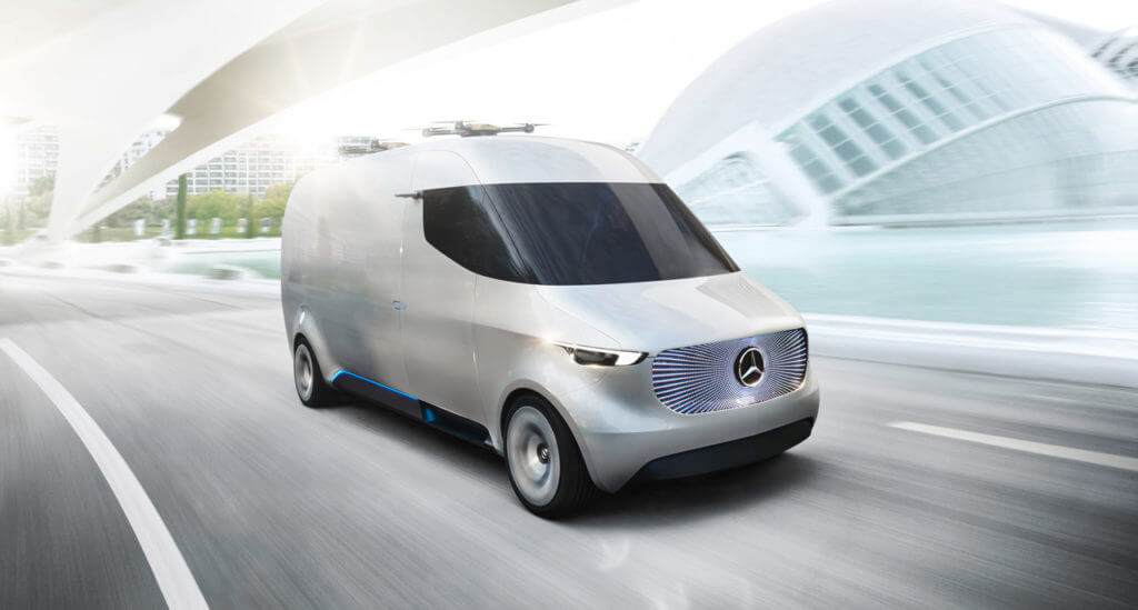 mercedes benz electric car concept