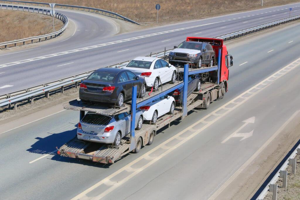 open car transport hauler